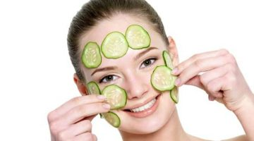 Homemade Facial Mask To Reduce Wrinkles With Cucumber