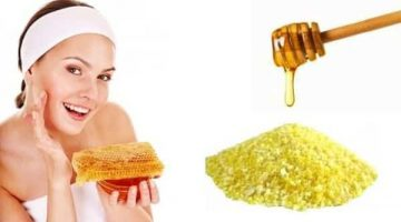 Facial Scrub With Cornmeal And Honey