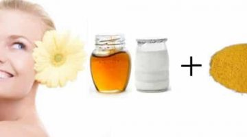 Facial Scrub With Cornmeal, Honey And Yogurt