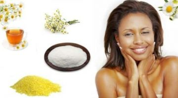 Facial Scrub With Cornmeal, Powdered Milk And Chamomile Tea