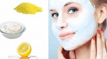 Facial Scrub For Oily Skin With Cornmeal, Yogurt And Lemon
