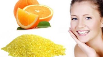 Facial Scrub For Oily Skin With Cornmeal and Orange Juice