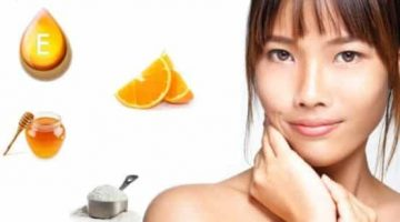 Homemade Radiant Skin Face Mask Made With Oranges
