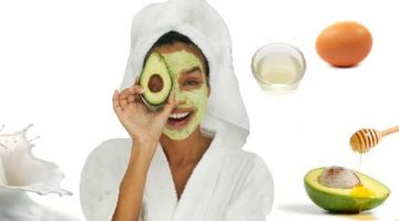 Homemade Dry Skin Face Mask With Egg White And Avocado