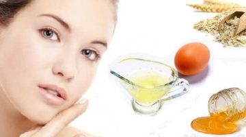 Exfoliating Egg White Face Mask Recipe With Oatmeal