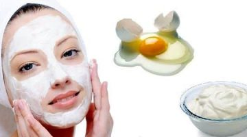 Egg White Face Mask Recipe With Yogurt For Combination Skin