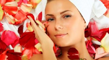 Rose Petals Face Mask For Combination Skin