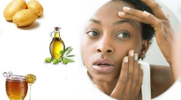 Face Mask For Dark Circles With Honey, Potatoes And Olive Oil