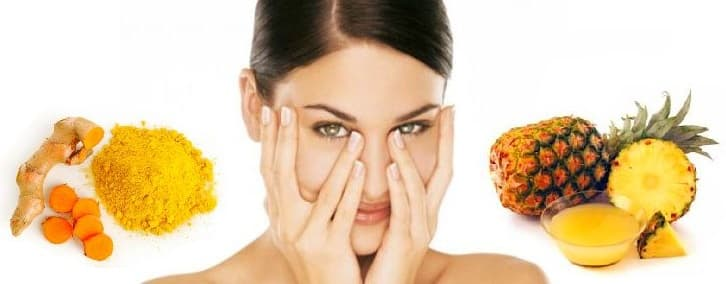 Face Mask For Dark Circles With Turmeric And Pineapple Juice