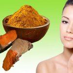 Homemade Facial Hair Removal With Turmeric