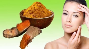 Homemade Facial Hair Removal With Turmeric