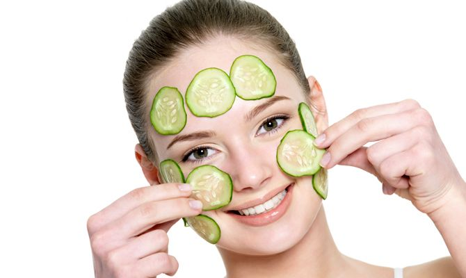 cucumber mask for wrinkles