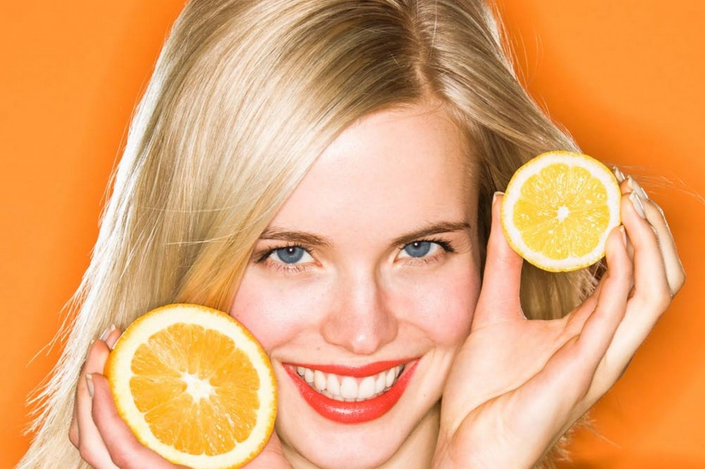 homemade face masks with oranges