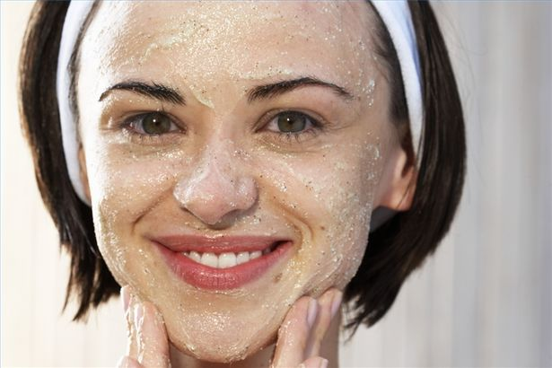 home made oatmeal face mask for acne