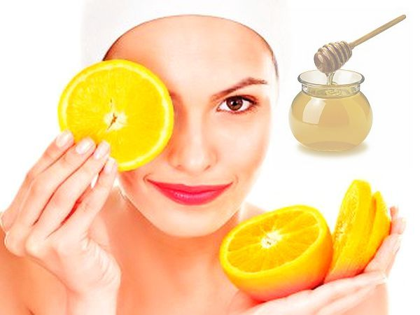 homemade face mask with orange for normal skin